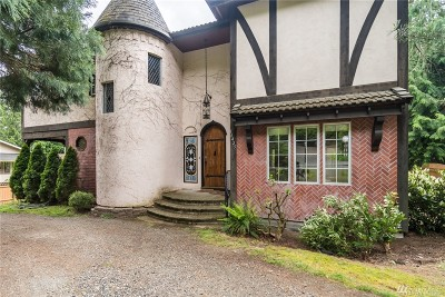 Bellevue Single Family Home For Sale: 16425 SE 34th St