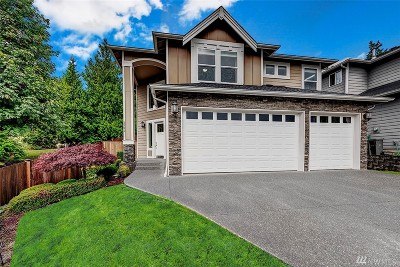Bothell Single Family Home For Sale: 3521 222nd Place SE