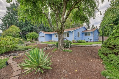 Olympia Single Family Home For Sale: 8004 Day Dr SE