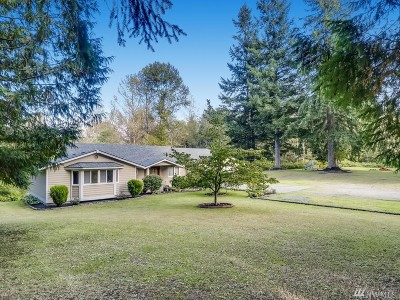 Snohomish County Single Family Home For Sale: 18820 52nd Ave NW