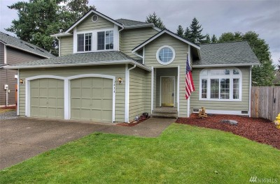 Spanaway Single Family Home For Sale: 3414 242nd St E