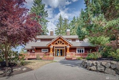 Bainbridge Island Single Family Home For Sale: 17200 Kinnear Place NE