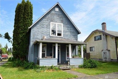 Centralia Single Family Home For Sale: 928 G St