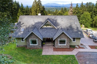Snohomish County Single Family Home For Sale: 26211 178th St SE