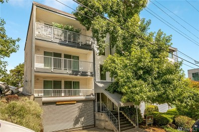 Seattle Condo/Townhouse For Sale: 762 Hayes St #31