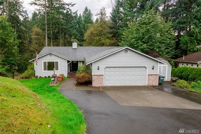 Pierce County Single Family Home For Sale: 6801 183rd Ave E