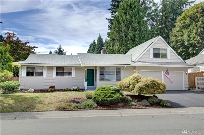 Kirkland Single Family Home For Sale: 11659 NE 155th St