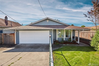 Tacoma Single Family Home For Sale: 7612 S D St