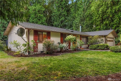 Olympia Single Family Home For Sale: 3069 Aspinwall Rd NW