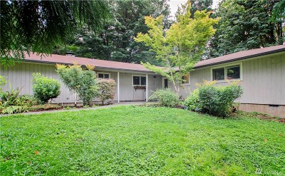 Olympia Single Family Home For Sale: 5700 Cooper Point Rd NW