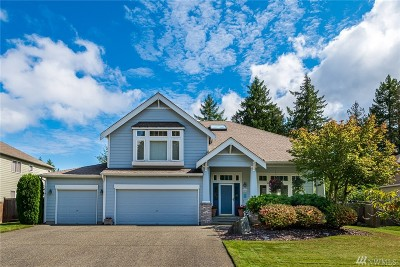 Olympia Single Family Home For Sale: 3234 Cedrona Dr NW