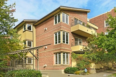 Seattle Condo/Townhouse For Sale: 719 2nd Ave W #201