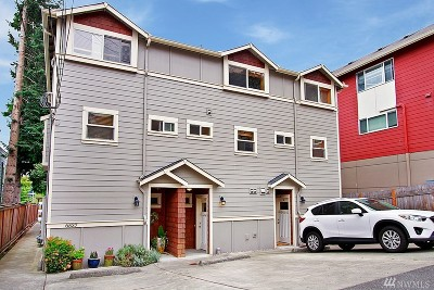 Seattle Single Family Home For Sale: 6537 34th Ave SW #B
