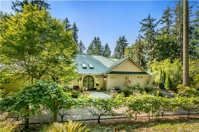 Woodinville Single Family Home For Sale: 16400 216th Ave NE
