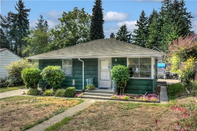 Seattle Single Family Home For Sale: 14327 Evanston Ave N