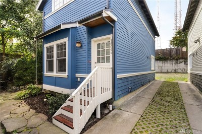 Seattle Single Family Home For Sale: 1609 21st Ave #B
