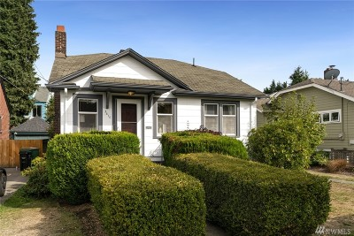 Seattle Single Family Home For Sale: 3610 42nd Ave SW