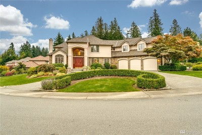 Sammamish Single Family Home For Sale: 25733 SE 27th St