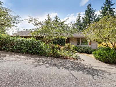 Bellevue Single Family Home For Sale: 13233 SE 51st Place