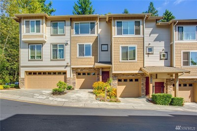 Issaquah Condo/Townhouse For Sale: 21308 SE 42nd Place