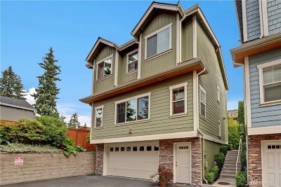 Edmonds Condo/Townhouse For Sale: 7523 210th St SW