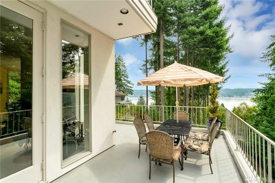 Bellevue Single Family Home For Sale: 1121 W Lake Sammamish Pkwy SE