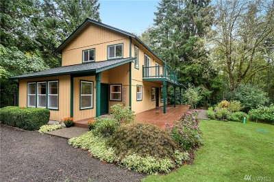 Port Orchard Single Family Home For Sale: 1730 SE Mullenix Rd