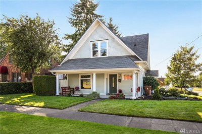 Tacoma Single Family Home For Sale: 5002 S K St