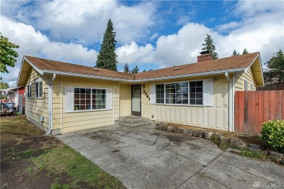Pierce County Single Family Home For Sale: 1701 116th St S