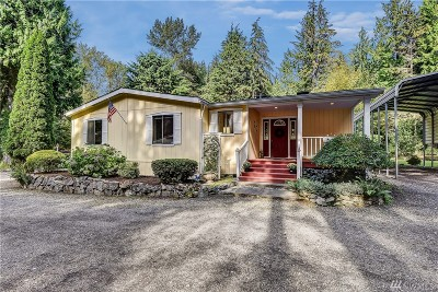 Snohomish Single Family Home For Sale: 7519 Mero Rd