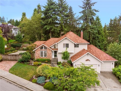 Bothell Single Family Home For Sale: 12201 NE 164th St