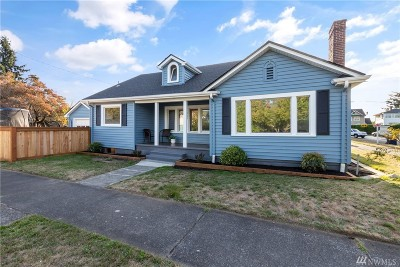 Tacoma Single Family Home For Sale: 902 S Ridgewood Ave