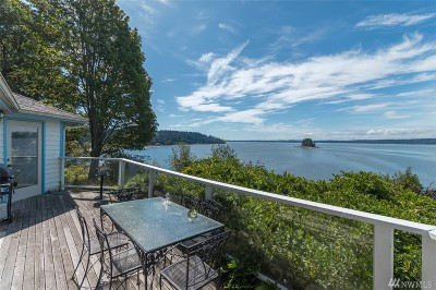 Gig Harbor Single Family Home For Sale: 61 Raft Island Dr NW