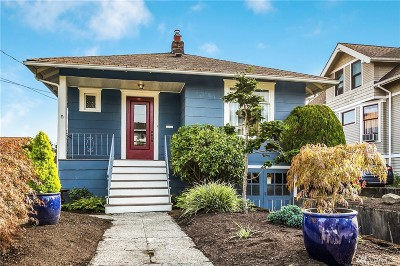 Seattle Single Family Home For Sale: 519 N 42nd St