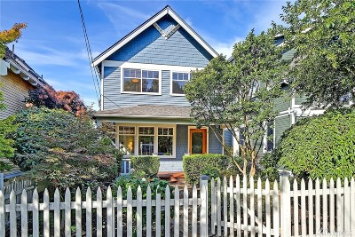 Seattle Single Family Home For Sale: 1605 10th Ave W