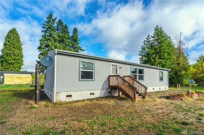 Chehalis Single Family Home For Sale: 1424 State Route 6