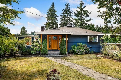 Seattle Single Family Home For Sale: 13721 19th Ave NE