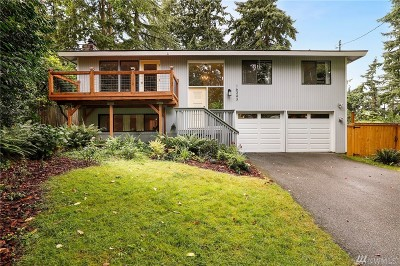 Kenmore Single Family Home For Sale: 16343 84th Ave NE