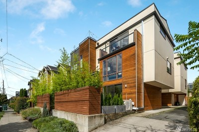 Seattle Single Family Home For Sale: 1734 NW 59th St #A