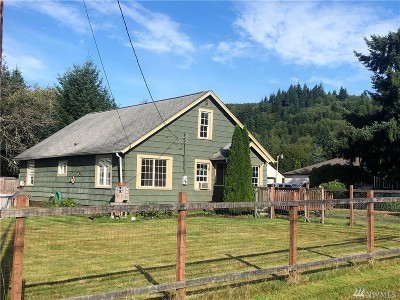 Montesano Single Family Home For Sale: 43 Camp Creek Rd