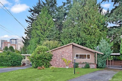 Bellevue Single Family Home For Sale: 1405 106th Ave NE