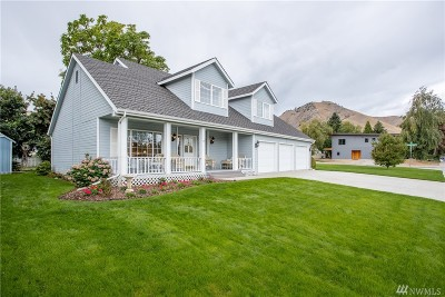 Chelan County Single Family Home For Sale: 1613 Washington