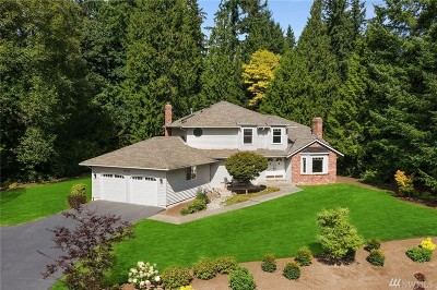 Woodinville Single Family Home For Sale: 18510 NE 191st St