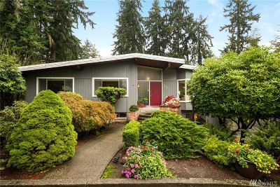 King County Single Family Home For Sale: 14559 Wallingford Ave N