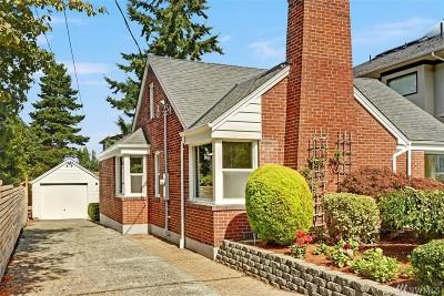 Seattle Single Family Home For Sale: 3908 W Dravus St