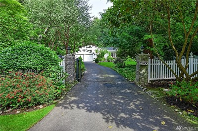 Snohomish County Single Family Home For Sale: 23607 Woodway Park Rd