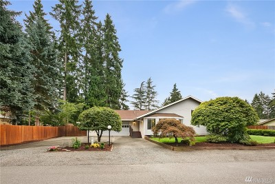Renton Single Family Home For Sale: 15711 SE 143rd St