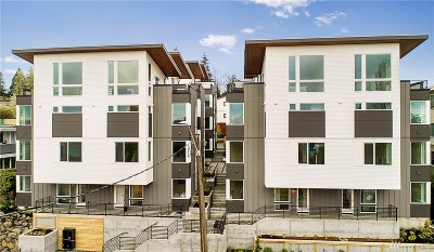 Seattle Condo/Townhouse For Sale: 3062 SW Avalon Wy