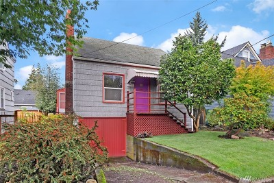 Seattle Single Family Home For Sale: 4731 36th Ave NE