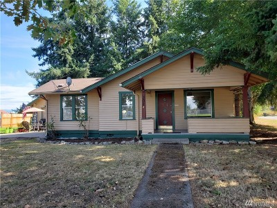 Thurston County Single Family Home For Sale: 302 Edwards St NW